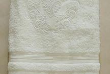 bordados em toalhas