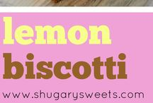 Biscotti Recipe / Delicious biscotti recipes I want to make for my ladies book club meetings.