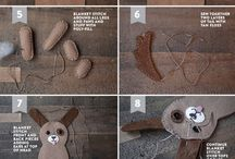 Free Softie Patterns / Free patterns to sew up adorable softies.