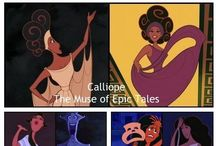 Muses from Hercules Costume ideas