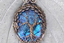 tree of life jewelry / by Cherie Ambrosino