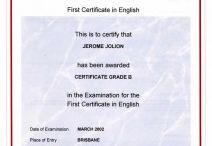 Examen inglés