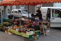 """Wochenmarkt 04.09.2015 / Wochenmarkt und Edigheimer Quetschekerwe!  Den Wochenmarkt finden Sie heute nur wenige  Meter von seinem üblichen Platz entfernt,  schräg gegenüber vom """"Netto-Getränkemarkt"""".  Zur Edigheimer Quetschekerwe bieten wir Ihnen heute an unserem Blumenstand fröhliche Sonnenblumensträuße, frech geschmückten Kürbis, wunderschöne Rosensträuße, strahlende Cyclamen, frische und kräftige Rosen aus heimischem Anbau und Gerbera und Astern von regionalen Erzeugern."""