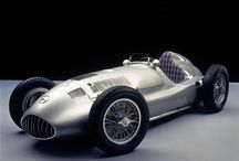 Vintage Mercedes Racing cars