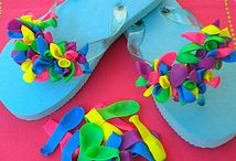 flipflops decorated