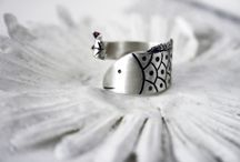 """Jewels made by Amalia// """"Kutsomura"""" ring. Hand melted pure silver, hand engraved. Size adjustable / Hand melted pure silver (999 grades, 100% hand processed), with hand engraved motives.Inspired by the Greek sea life."""