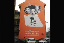 Reklámfestés / Reklámok tervezése, reklámok festése kedvező áron