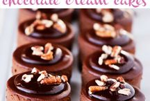 Cheececake / raw-chocolate-cream-cakes