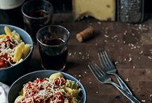 Italian food - pasta etc