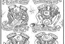 Moto Art / Motorcycle art and inspiration