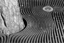 Tree grates & grated drains