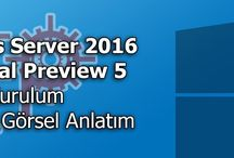 Windows Server Technical Preview / Windows Server Technical Preview kurulumları