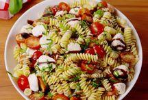 Σαλάτες με μακαρόνια