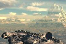 Guerra de las galaxias alcon milenario
