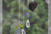 Artesanato frascos vidro