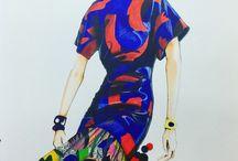 Daniel Chong illustration / Fashion illustration