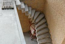 Mine beton trapper / beton trappe