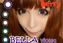 Bella 16mm Berry Lenses / Shop now at http://shop.jeanmonique.com <3 Thanks loves! <3 #Anthea
