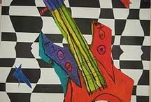 Art Class ideas / Elementary art