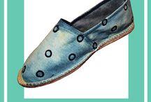 shoes / espadrillas color pattern