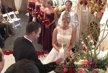 """Tidewater Inn Wedding/Eastern Shore Wedding Video / Kassie and Jeff had a perfect October day for their perfect wedding and reception. The iconic Tidewater Inn in Easton, MD is one my favorite Eastern Shore wedding venues. (All """"photos"""" are freezes from our video recording.)"""
