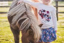 Kids & Ponies Photo Shoot // Outfit Ideas