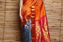 Kanjivaram Sarees / Kanjivaram Sarees  is one of the most magnificent and rich sarees at Indianroots