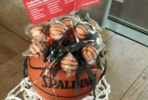 Basketball Theme / great Ideas for Basketball themed Birthday Parties and Bar/Bat Mitzvahs!