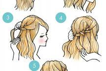 Hairstyles / Makeup / Bffs