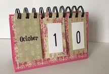naptárak, füzetecskék
