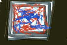 Abstract art and life / Study of life in an abstract way.