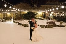 Snowy Winter Weddings / Winter weddings that have a beautiful natural backdrop