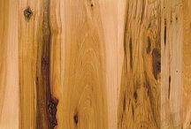 Antique Reclaimed Hickory Character  / ​This super hard and durable wood will out live and out last you and yours  Antique Hickory has an open grain similar to oak and its color ranges from creamy yellow brown to medium brown with frequent dark mineral streaks and striations.