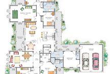PlanosCasas / Planos de casas grandes y pequeñas, con todas las comodidades