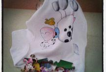 My Tshirt handmade / Body e tshirt dipinti a mano