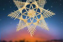 Straw Art - Christmas