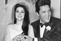 Elvis Presley  (1935-1977) / Un mariage et un divorce : Priscilla Presley (de 1967 à 1973) Une fille : Lisa Marie