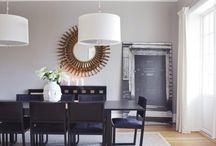Stue med kalkgrå