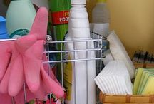 Cleaning & Organization / Keep your home clean, tidy and organized with these tips.  / by Cathe M. @ The Garden Gate