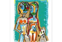 Láminas decorativas - Artista Javier Alborch / Láminas decorativas de artistas emergentes. Ilustraciones y fotografías Fine Art de alta calidad, impresas en papeles 100% algodón.