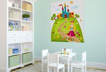 Fototapety dla dzieci / W pokoju dziecięcym i młodzieżowym