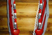 Cotton necklaces