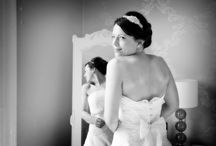 Mischevani bridal / Dresses by the fabulous Claire Mischevani of Shrewsbury, photographed by myself at weddings