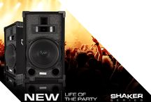 Shaker Series DJ Passive Loud Speaker Systems / Get Yours At: www.vminnovations.com,www.amazon.com and www.ebay.com For more details visit www.vmaudio.com