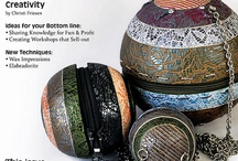Published! Local & International Polymer Clay Publications