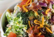 Salads / by Arran Nailor