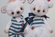 Bears ♡ / Bears - Teddies - Patterns - Inspiration - Softies - Toys - OOAK