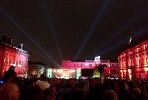 Festival of Light - Huddersfield / Festival of Light in Huddersfield Town Centre