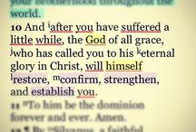 Bible Verses / by Karen Dunford