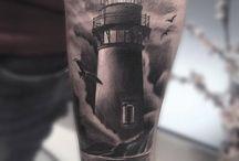 tattoos lighthouse